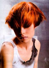 Trendowa fryzura - 63