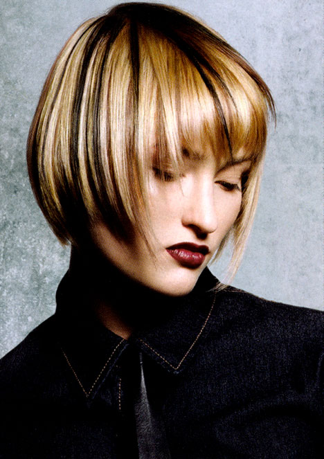 Trendy fryzury - Trend Zoom 2007 Creative Team for Goldwell