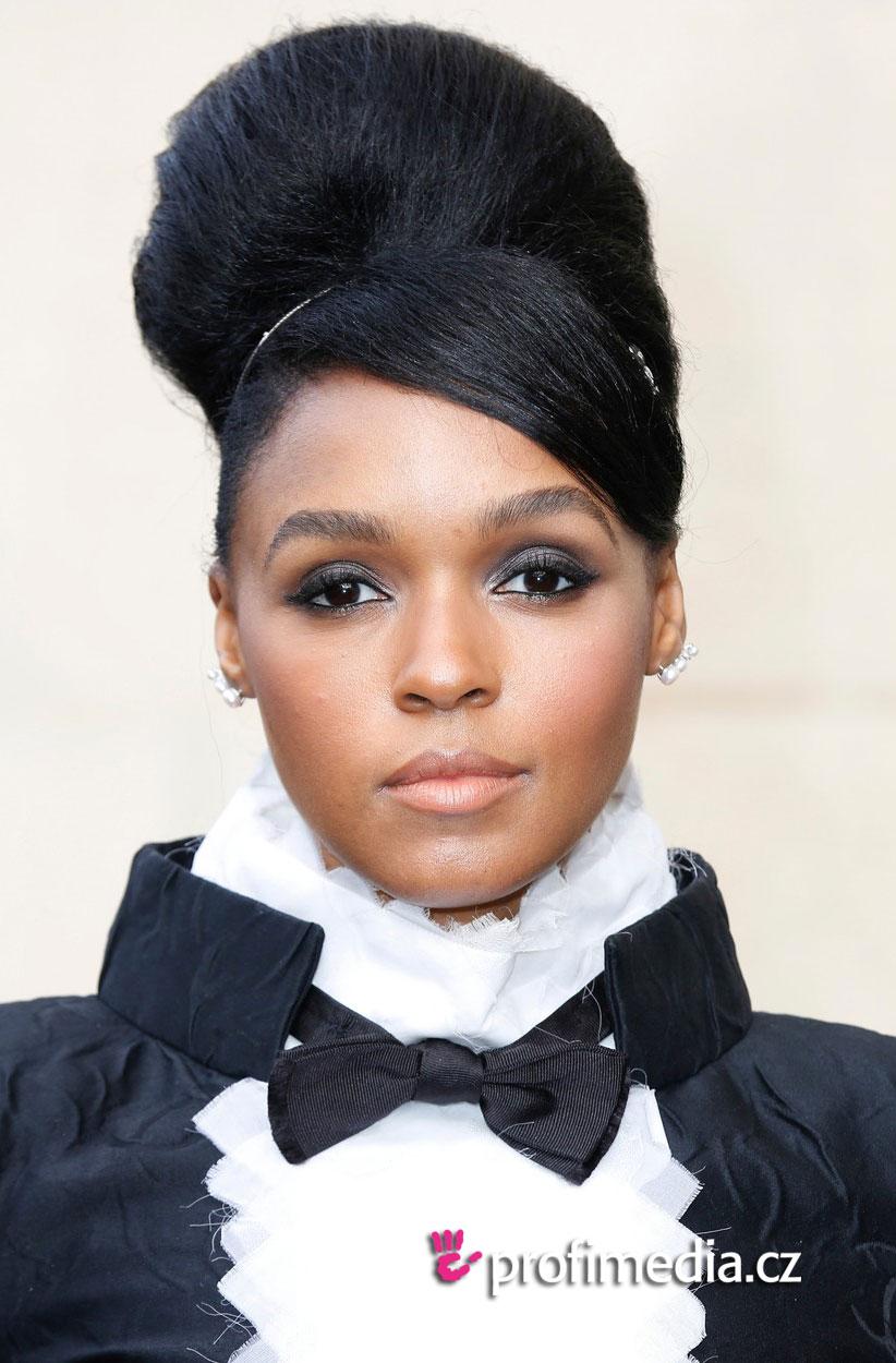 Janelle Monae Hairstyle Easyhairstyler