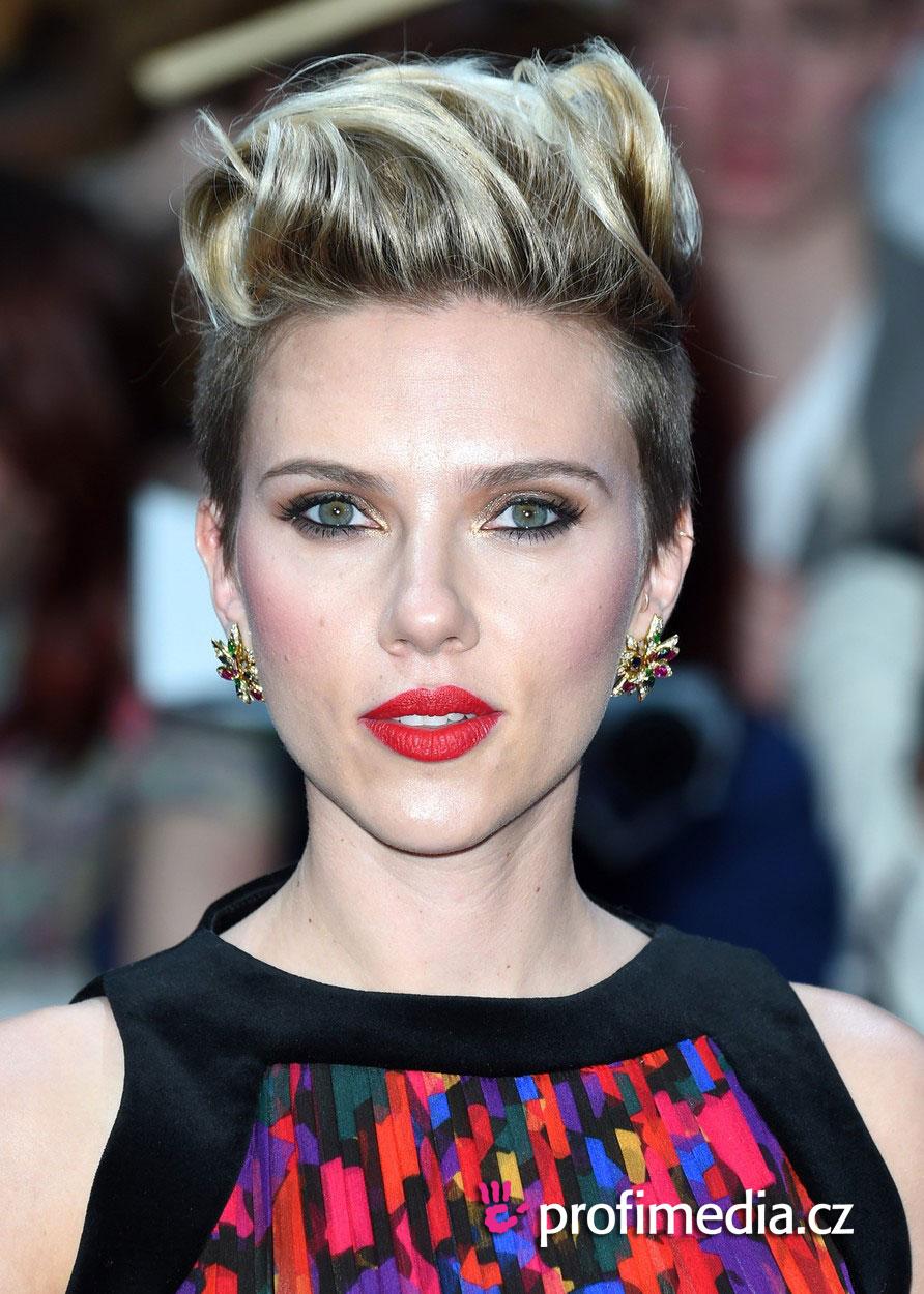 Scarlett Johansson Fryzura Happyhair