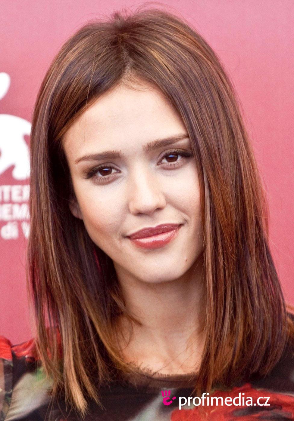 Jessica Alba Hairstyle Easyhairstyler