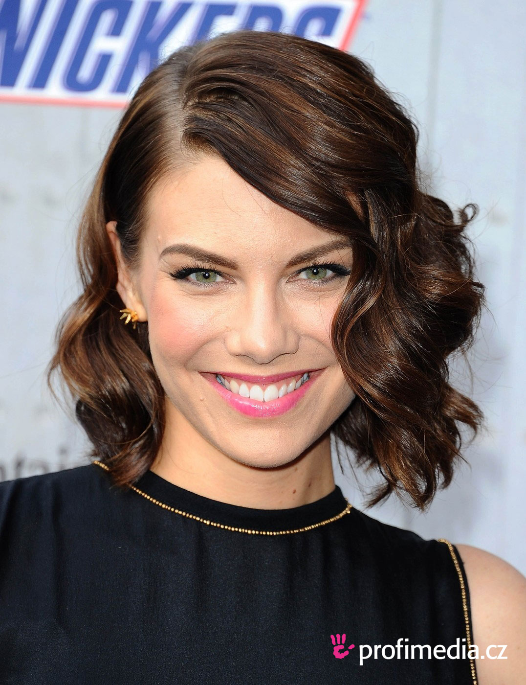 Hairstyle for short hair for party
