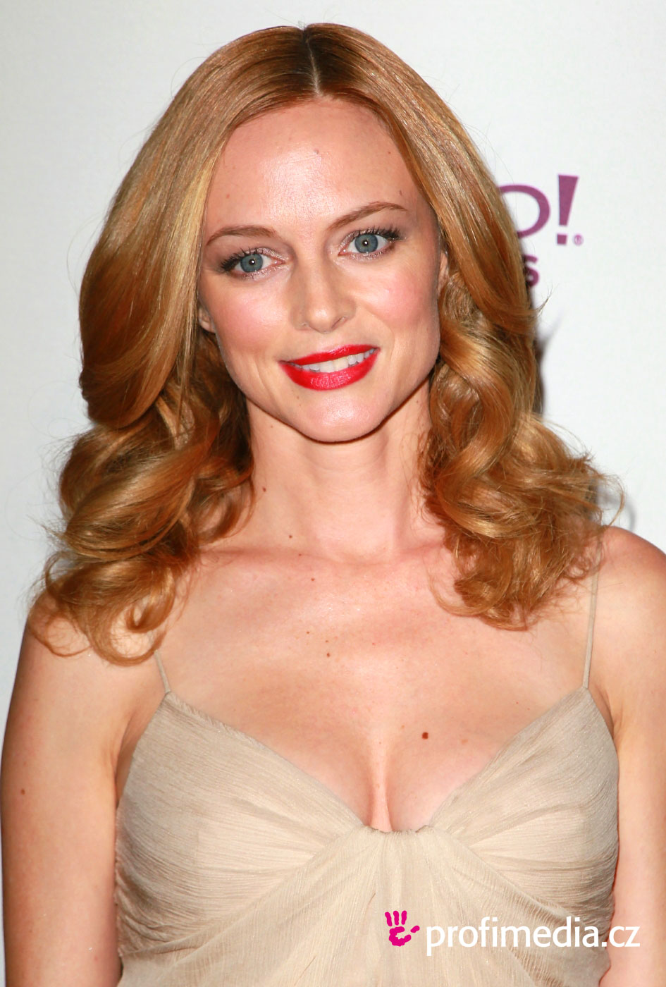 Heather graham coiffure happyhair for Miroir virtuel coiffure
