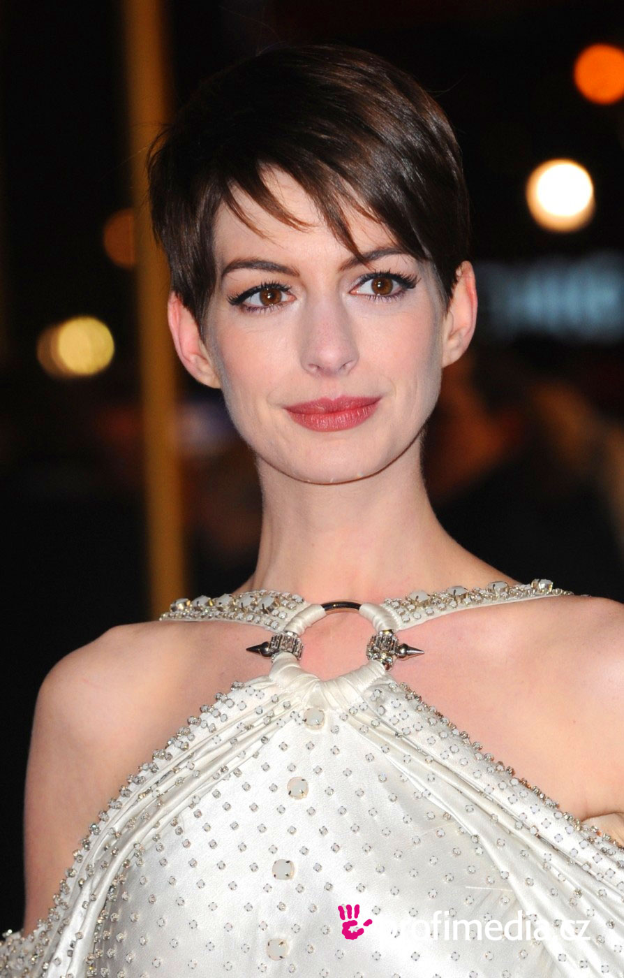Anne Hathaway Hairstyle Easyhairstyler