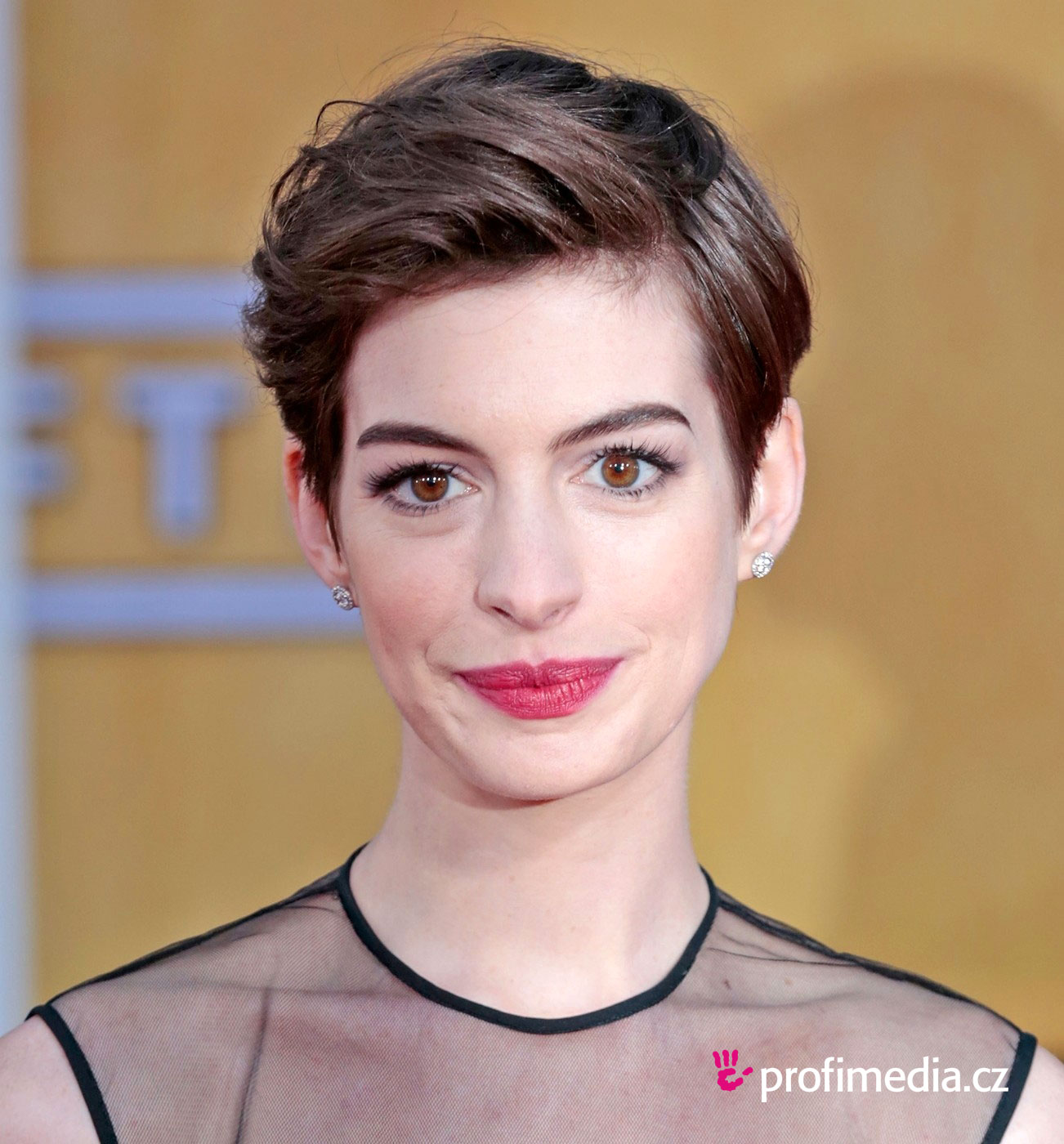 anne hathaway frisur zum ausprobieren in efrisuren. Black Bedroom Furniture Sets. Home Design Ideas