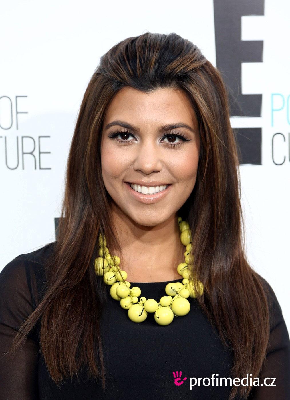 kourtney kardashian - - hairstyle - easyhairstyler