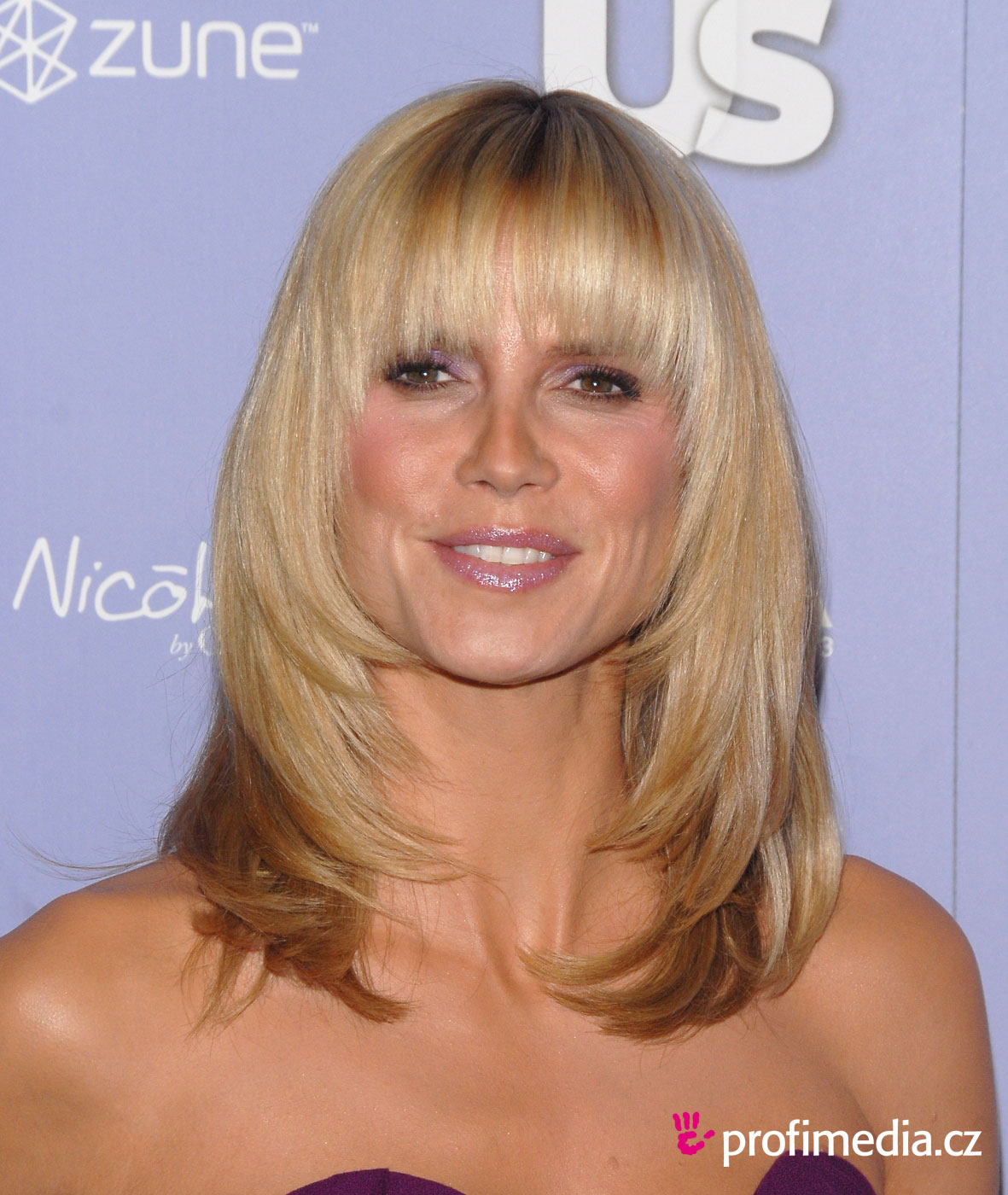 Heidi klum hairstyle easyhairstyler you can try this heidi klums hairstyle with your own photo upload at easyhairstyler urmus Images