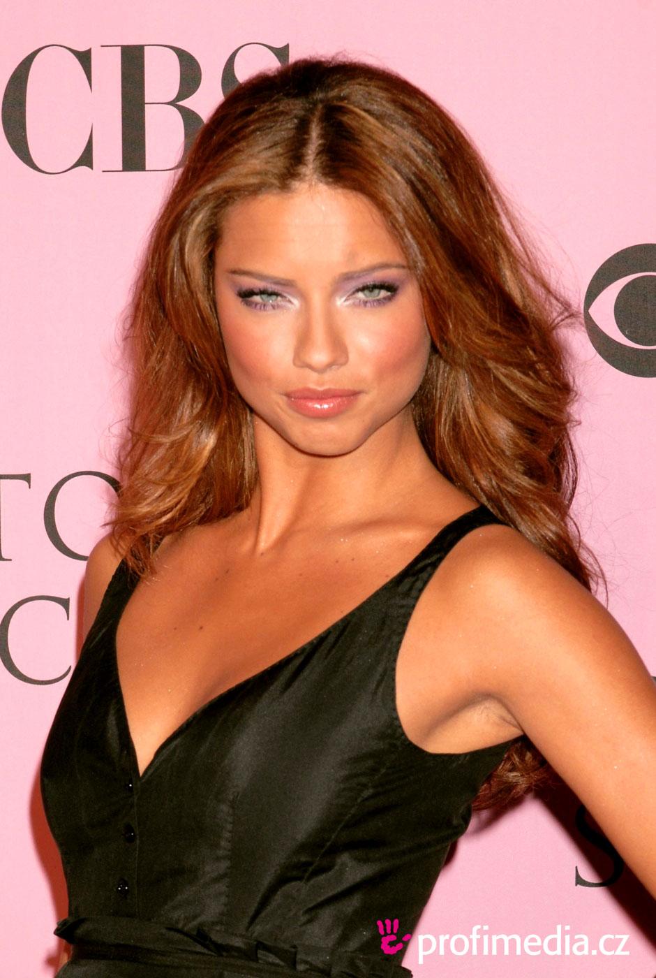 Adriana Lima Hairstyle Easyhairstyler