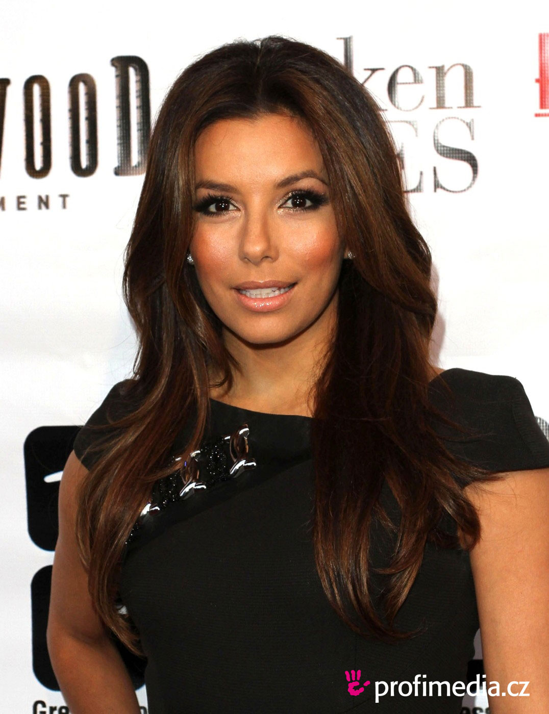 eva longoria peinado de. Black Bedroom Furniture Sets. Home Design Ideas