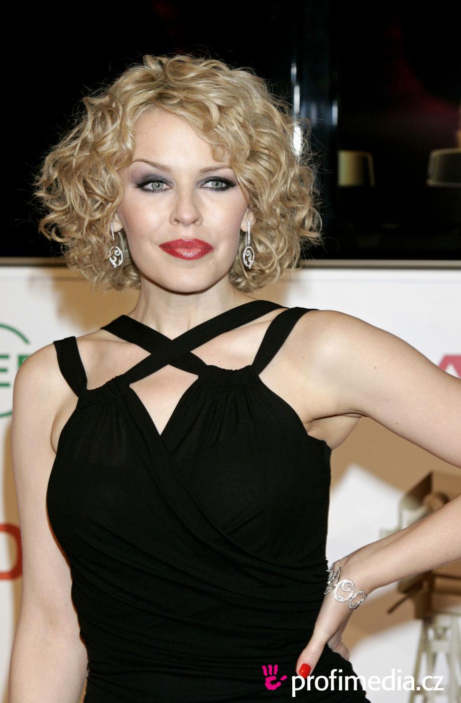 Kylie Minogue Hairstyle Easyhairstyler