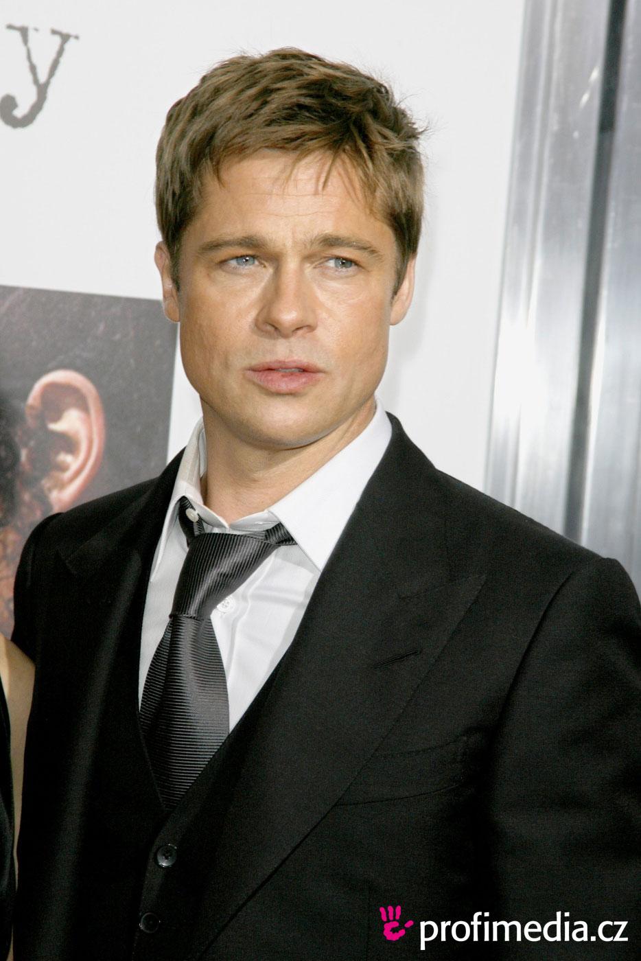 Brad Pitt Hairstyle Easyhairstyler