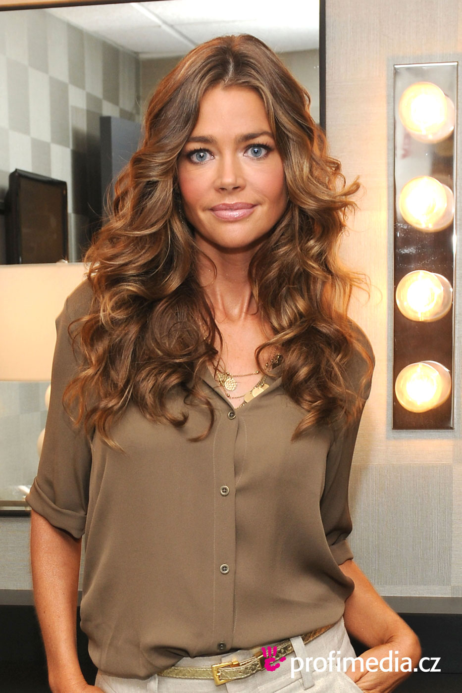 Denise Richards   hairstyle  easyHairStyler - Formal Hairstyles For Medium Hair