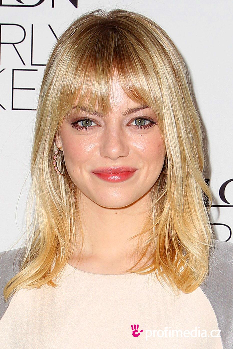 Emma Stone Hairstyle Easyhairstyler