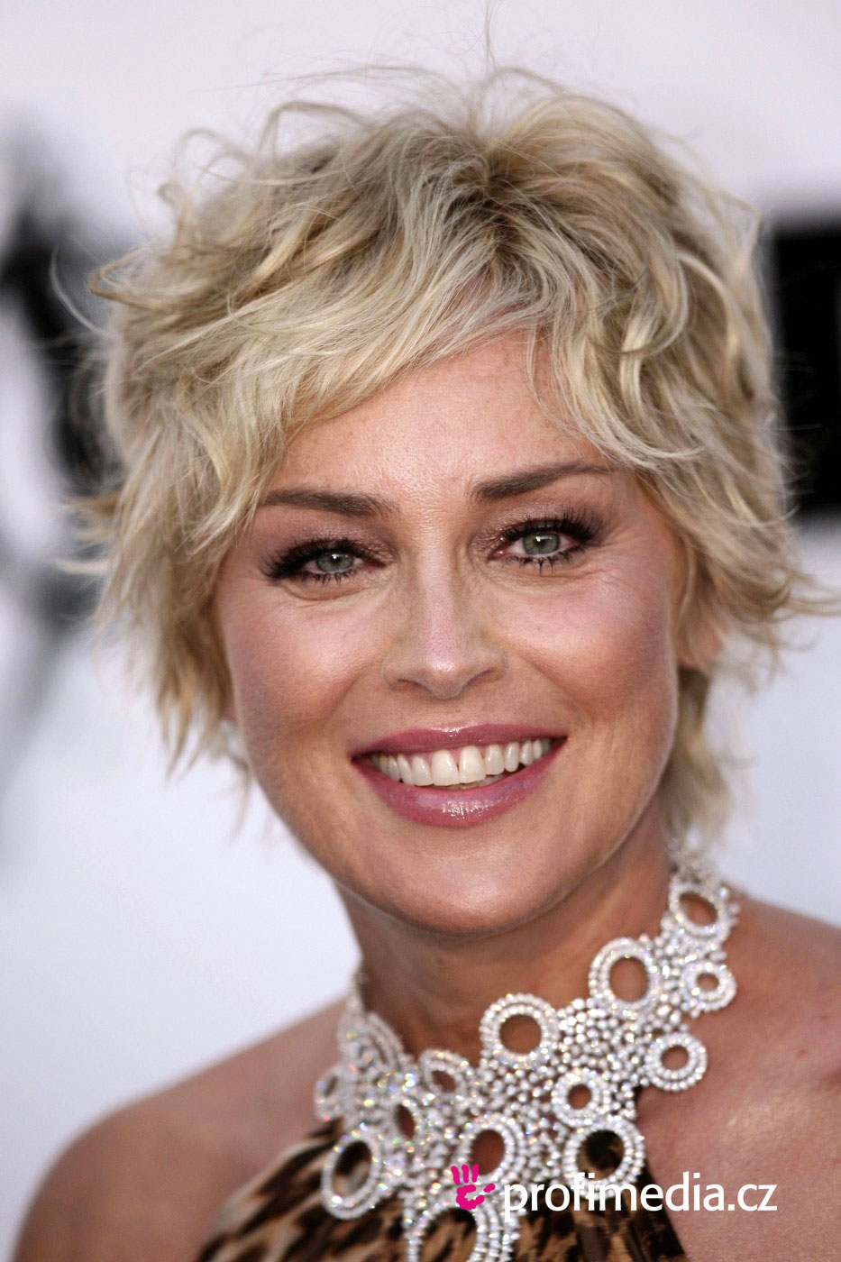 Sharon stone coiffure happyhair for Miroir virtuel coiffure