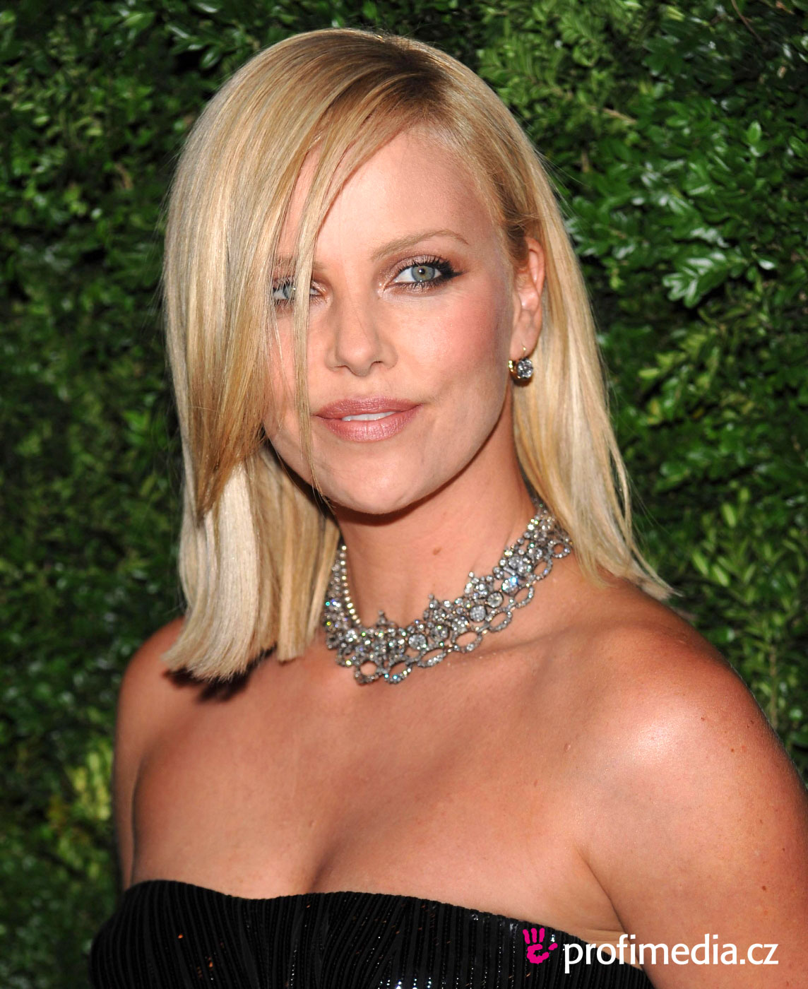 Charlize Theron - - hairstyle - easyHairStyler