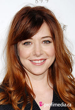 Acconciature delle star - Alyson Hannigan