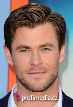 Účesy celebrít - Chris Hemsworth