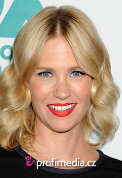 Účesy celebrít - January Jones