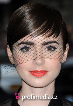 ��esy celebr�t - Lily Collins