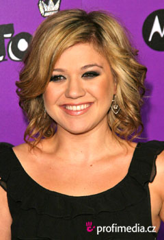 Promi-Frisuren - Kelly Clarkson