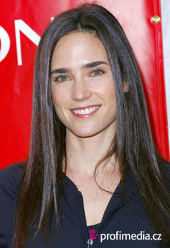 Účesy celebrít - Jennifer Connelly