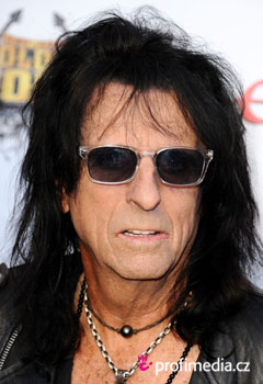 Acconciature delle star - Alice Cooper