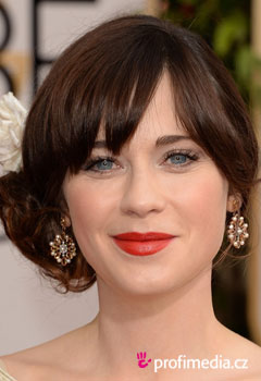 Promi-Frisuren - Zooey Deschanel