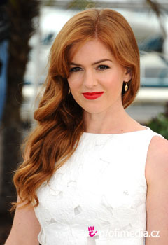 Acconciature delle star - Isla Fisher