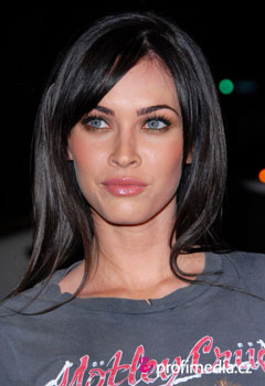 Acconciature delle star - Megan Fox
