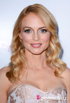 Účesy celebrít - Heather Graham