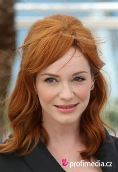 Promi-Frisuren - Christina Hendricks