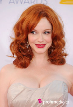 Acconciature delle star - Christina Hendricks