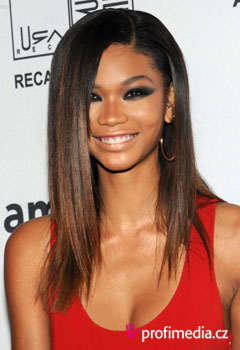 Acconciature delle star - Chanel Iman