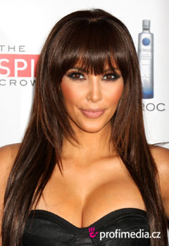 Kim Kardashian Peinados De Famosos En Happyhair