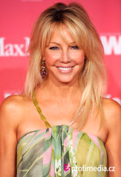 Účesy celebrít - Heather Locklear