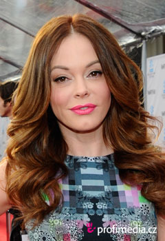Acconciature delle star - Rose McGowan
