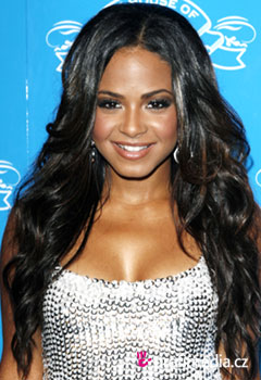 Acconciature delle star - Christina Milian