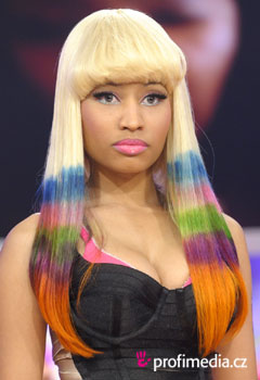 Promi-Frisuren - Nicki Minaj