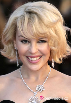 Acconciature delle star - Kylie Minogue