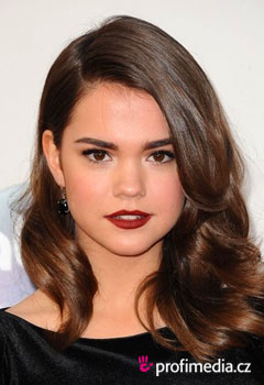 Coafurile vedetelor - Maia Mitchell
