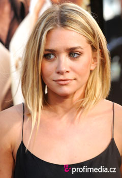 Účesy celebrit - Ashley Olsen