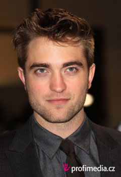 Účesy celebrít - Robert Pattinson