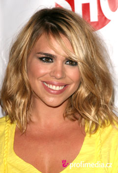 Účesy celebrit - Billie Piper
