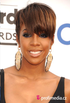 Acconciature delle star - Kelly Rowland