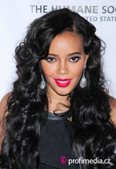 Acconciature delle star - Angela Simmons