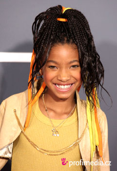 Účesy celebrít - Willow Smith