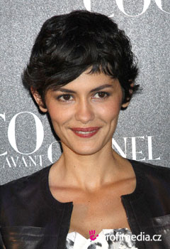 Coafurile vedetelor - Audrey Tautou