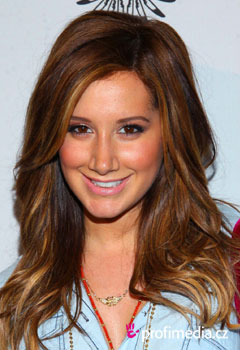 Acconciature delle star - Ashely Tisdale