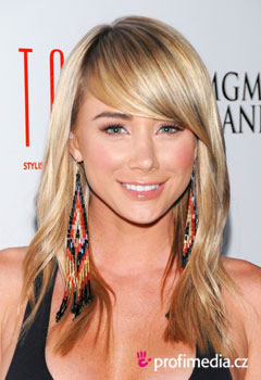 Acconciature delle star - Sara Underwood