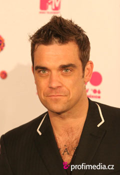 Peinados de famosas - Robbie Williams